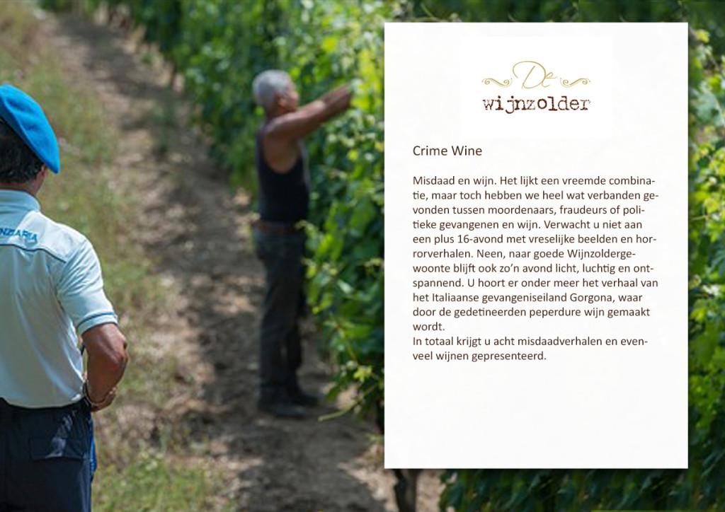 Crime Wine